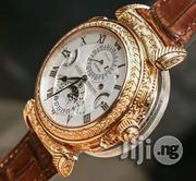 Patek Philippe Leather Wristwatch | Watches for sale in Lagos State, Oshodi-Isolo