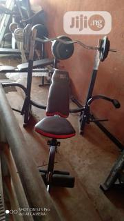 Weight Bench With 50kg Weight | Sports Equipment for sale in Lagos State, Surulere