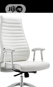 Best Quality Recline White Office Chair   Furniture for sale in Lagos State, Ojo