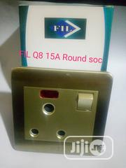 Stainless Gold Big Button Switch | Electrical Tools for sale in Lagos State, Ojo
