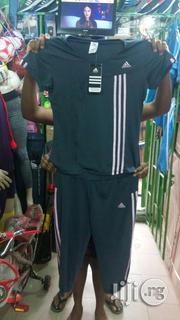 Grey With Stripe Colour Gym Outfit | Clothing for sale in Lagos State, Ikeja
