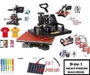 9-in-1 Heat Transfer Machine On PROMO (2020 UPGRADED Model) | Printing Equipment for sale in Lagos State, Ojodu