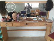 Neatly Used Makeup & Salon Mirror | Home Accessories for sale in Ogun State, Abeokuta South