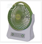Ziclonen 3 Speed Rechargeable 7.5inch Fan With 4SMD Lighting   Home Appliances for sale in Lagos State, Lagos Island