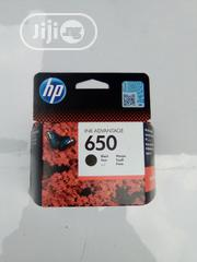 Geniue Hp Inkjet 650 Black | Accessories & Supplies for Electronics for sale in Lagos State, Yaba