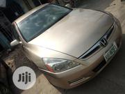 Honda Accord Sedan EX 2007 Gold | Cars for sale in Rivers State, Port-Harcourt
