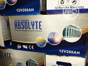12vos 200hams Absolyte Battery Is Now Available With Two Years Wranty | Solar Energy for sale in Lagos State, Ojo