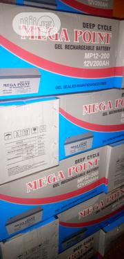 200ahs/12volt Mega Point Inverter Battery | Electrical Equipment for sale in Lagos State, Ikoyi