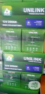 200ahs/12volt Unilink Inverter Battery | Electrical Equipment for sale in Lagos State, Ikoyi