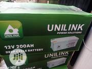 200ah Unlink Solar Battery | Solar Energy for sale in Lagos State, Ojo