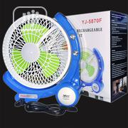 Multifunction Rechargeable Fan With Led Light | Home Appliances for sale in Lagos State, Ikeja