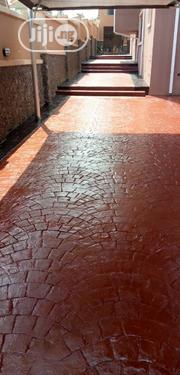 Stamped Concrete Floor | Building & Trades Services for sale in Lagos State, Lekki Phase 1