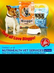 Binggo Dog Food Puppy Adult Dogs Cruchy Dry Food Top Quality.. | Pet's Accessories for sale in Lagos State, Victoria Island