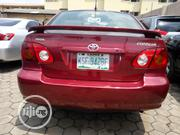 Toyota Corolla 2003 Sedan Automatic Red | Cars for sale in Lagos State, Ikeja