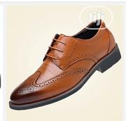 Declan Mein Brogue Dress Shoes Upto Size 48 - Brown | Shoes for sale in Abuja (FCT) State, Apo District