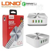 Ldnio A8101 10A Qc3.0 Quick Charge 8-Port USB Charger | Accessories for Mobile Phones & Tablets for sale in Lagos State, Ikeja