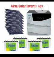 4kva Luminous Inverter + 4 220ah Luminous Tubular Battery And Solar P. | Solar Energy for sale in Lagos State, Ojo