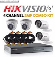 Hikvision 4 Channel 2mp Combo KIT | Security & Surveillance for sale in Lagos State, Ikeja