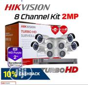 Hikvision 2mp 8ch Hdtvi Combo Kit W/ 2tb HDD | Security & Surveillance for sale in Lagos State, Ikeja