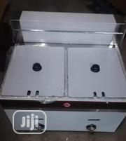 Double Baskets Gas Deep Fryer Table Top | Kitchen Appliances for sale in Lagos State, Ojo