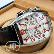 Franck Muller Mens Leather Watch | Watches for sale in Lagos State