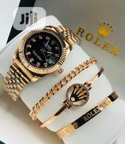 Rolex Unisex Rose Gold Wristwatch Bracelets | Jewelry for sale in Lagos State, Surulere