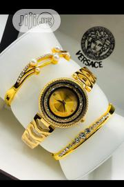 Versace Female Gold Wristwatch Bracelet | Jewelry for sale in Lagos State, Surulere