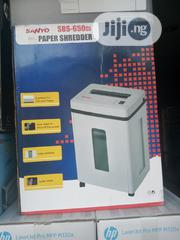 Sanyo Sbs-650ci Paper Shredder | Stationery for sale in Lagos State, Ikeja