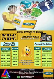 MTN Data Bundle at Cheap Price | Computer & IT Services for sale in Rivers State, Obio-Akpor