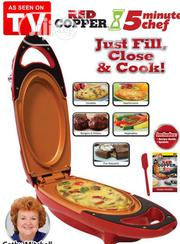 5 Minute Chef Non Stick Electric Cooker | Kitchen & Dining for sale in Lagos State, Ikeja