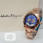 Gold Salvatore Farragamo Watch for Men | Watches for sale in Lagos State