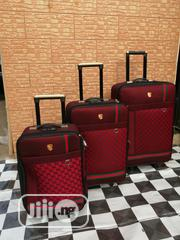 Travelling Bags For Boarding School Students (3 Sets) Red Color   Babies & Kids Accessories for sale in Lagos State, Ikeja