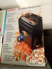 Sanyo Shredding Machine Sbs 650 | Stationery for sale in Lagos State