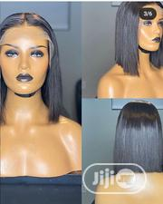 Shoulder Length Black Wig With Full Lace Frontal   Hair Beauty for sale in Lagos State, Ikorodu