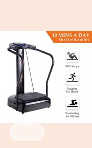 Crazy Fit Whole Body Vibration Plate Machine Massage Massager   Sports Equipment for sale in Lagos State, Surulere