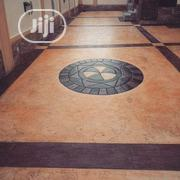 Concrete Stamped Floor Installation | Building & Trades Services for sale in Lagos State