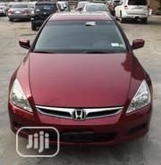 Honda Accord 2006 Sedan LX 3.0 V6 Automatic Red | Cars for sale in Lagos State, Lekki Phase 2