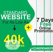 Get Cheap and Standard Website Plus Mobile App | Computer & IT Services for sale in Lagos State, Agege