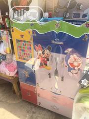 Baby Wooden Wardrobe,With Hanger Sides | Children's Furniture for sale in Lagos State, Kosofe