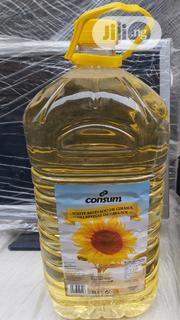 5litres Consum Sunflower Oil | Meals & Drinks for sale in Lagos State, Surulere