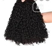Double Drawn Pixie Curl 12inches 300grams With Closure | Hair Beauty for sale in Lagos State, Amuwo-Odofin