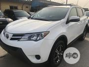 Toyota RAV4 2014 LE 4dr SUV (2.5L 4cyl 6A) White | Cars for sale in Lagos State
