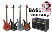 4 / 5 String BASS GUITAR   Musical Instruments & Gear for sale in Lagos State, Mushin
