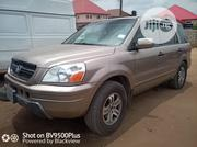Honda Pilot 2003 EX 4x4 (3.5L 6cyl 5A) Gold   Cars for sale in Akwa Ibom State, Uyo