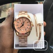 Original Omega Wristwatch With Nail Bracelet | Jewelry for sale in Lagos State, Lagos Island