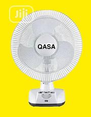 Rechargeable QASA Table Fan | Home Appliances for sale in Lagos State, Ojo