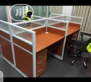This Is Brand New Quality Workstation Table Four Seaters It Is Strong   Furniture for sale in Lagos State, Lekki Phase 2