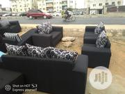Fabric Sofa Wit Throw Pillows | Home Accessories for sale in Lagos State, Ajah