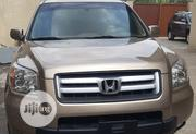 Honda Pilot 2007 EX-L 4x4 (3.5L 6cyl 5A) Gold | Cars for sale in Lagos State, Surulere