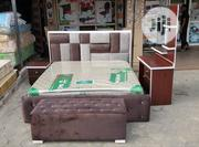 High Quality King Sized Bed Frame With Bed | Furniture for sale in Lagos State, Ojo
